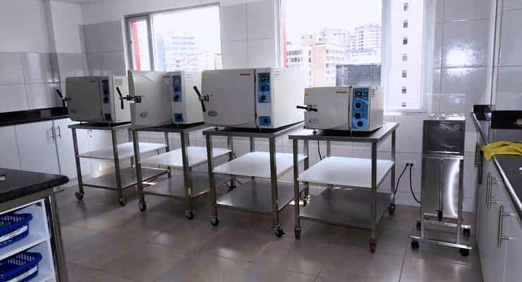 Equipos Autoclaves en central de esterilización
