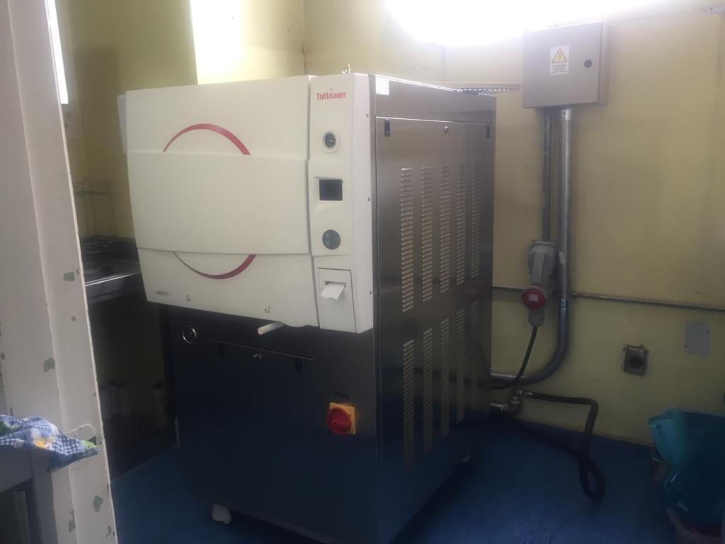 Nueva central de esterilizacion Clinica el Batan