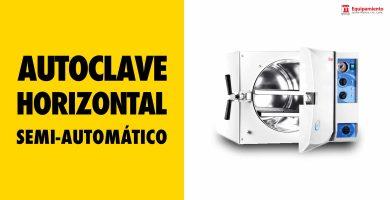 Esterilizador horizontal semi automático mecánico