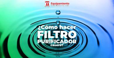 Cómo hacer un filtro Purificador de Agua Casero