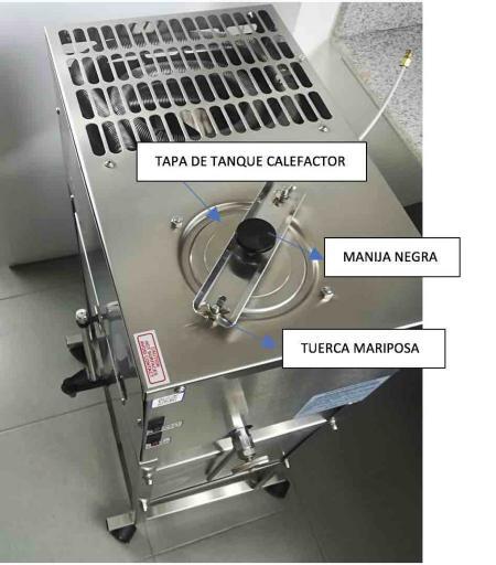 Partes destilador de agua durastill