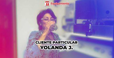 cliente particular YOLANDA JARAMILLO purificador de agua